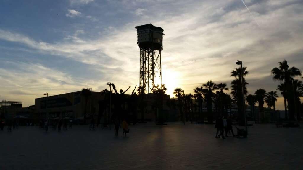 Barca beach tower