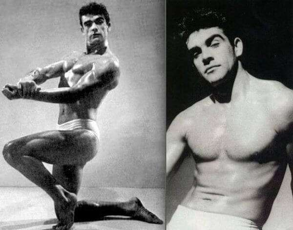 Sean Connery Mr Universe contestant 1953