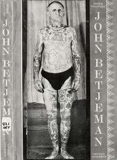 John Betjeman as Tattooed Man